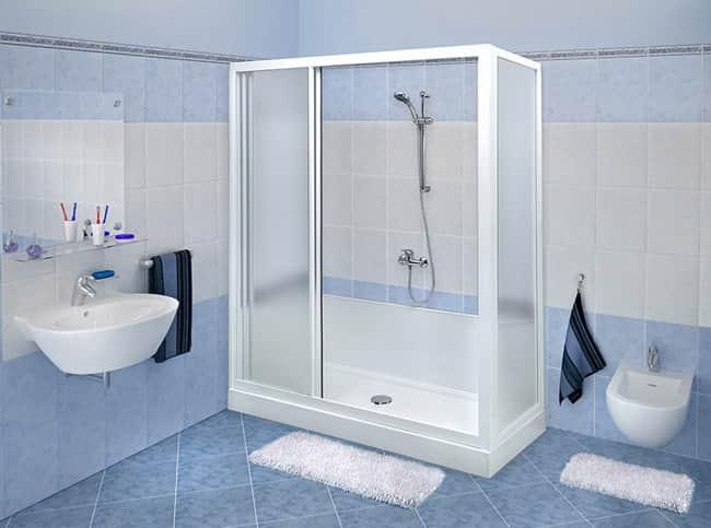 Come si trasforma la vasca in doccia nova srl - Box doccia misure standard ...